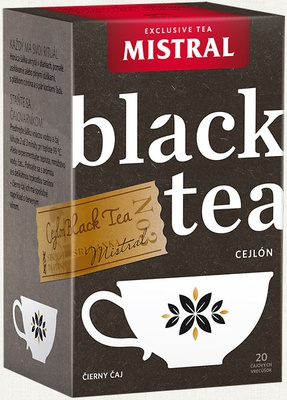 mistral black tea cejlon 30g hp