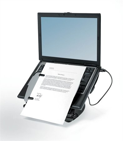 Stojan na notebook, s USB portami, FELLOWES...