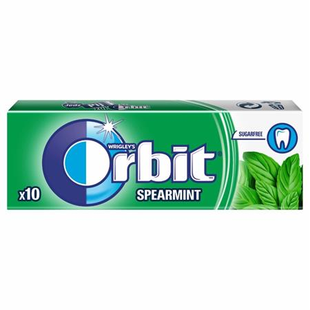 Orbit spearmint dražé, 14g
