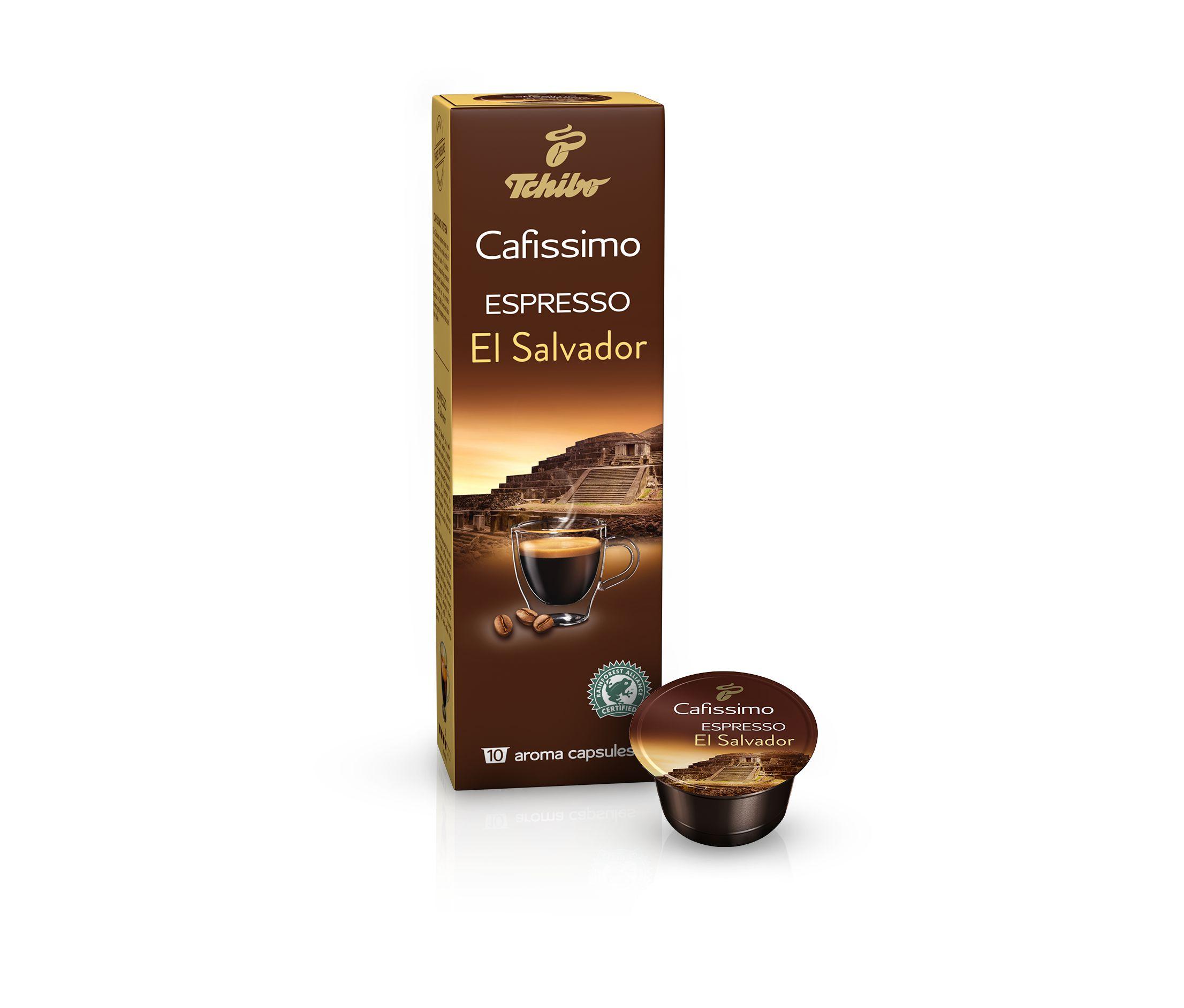 560d1bfc6 Tchibo Cafissimo Espresso El Salvador 10 kapsúl ...