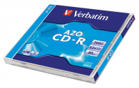 CD-R 700 MB, AZO, 80min, 52x, Crystal,...