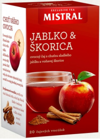 mistral apple & cinnamon tea 50g hp