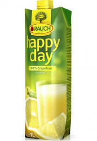 happy day grapefruit 100% 1l